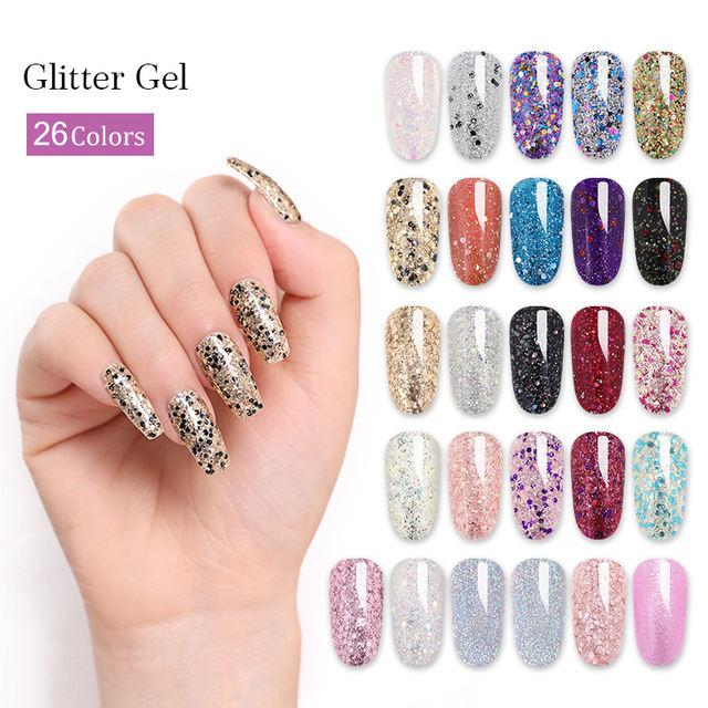 LILYCUTE 5ml  Glitter UV Gel