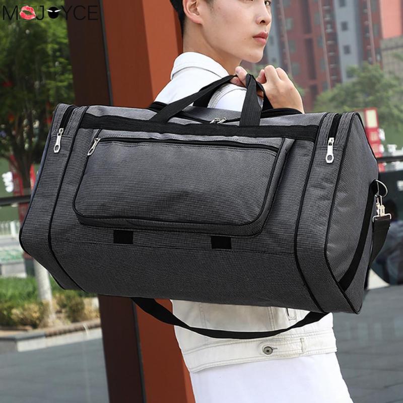 Novos Homens Quente de Grande Capacidade Saco de Viagem Da Moda Para O Homem Mulheres Fim De Semana Saco de Viagem Grande Capacidade Saco de Transportar em Sacos sacos de noite