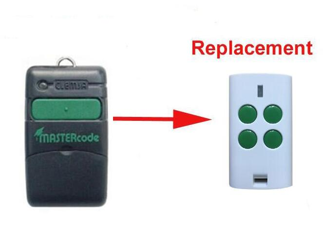 Clemsa Mastercode MV1 Cloning Remote Control Replacement Fob 433MHz high quality clemsa mastercode mv1 compatible remote control 433mhz free shipping