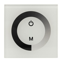 DIY Home Lighting RGB LED Touch Switch Panel Controller LED Dimmer For DC12V LED Strip Lights