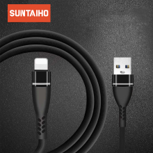 Suntaiho USB cable for iphone Xs Max for lighting cable cord charger the phone charging wire for iphone charger for iphone 8567