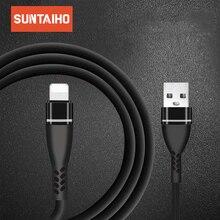 Suntaiho USB 케이블 iphone Xs 용 조명 케이블 코드 충전기 iphone 8567 용 iphone 충전기 용 전화 충전 와이어