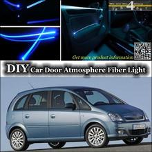Внутренний светильник окружающей среды, настроенный атмосферный волоконно-оптический светильник s для Opel Meriva A/B освещение внутри двери, не EL светильник