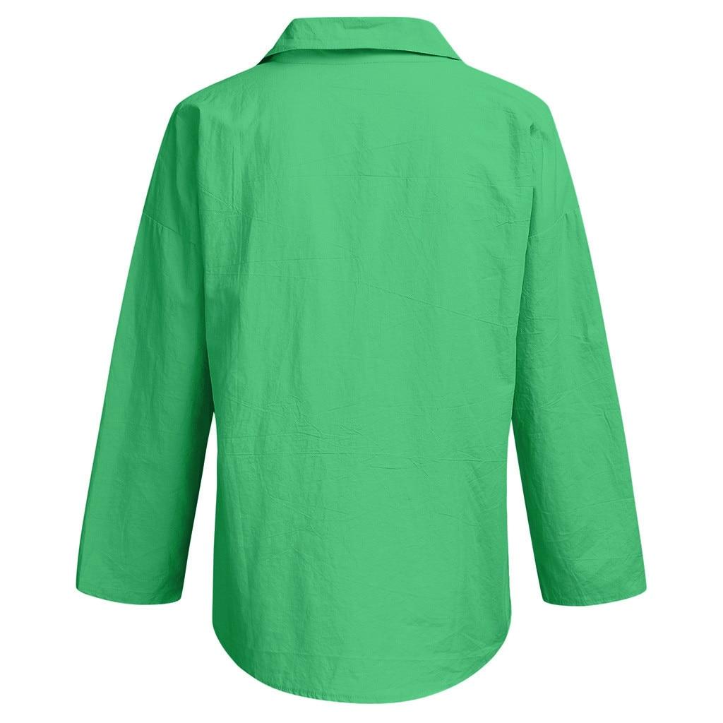 Letnie koszule i bluzki białe jednolite, luźne koszule  KZibg