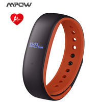 Mpow D9s Fitness Bracelet Heart Rate/Activity Tracker Sleep Monitor Smart Wrist Band Alarm Alert For iOS Android IP67 Waterproof