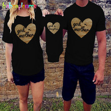 babzapleume Summer Matching Mother And Daughter Father Son Clothes Fashion T-shirt Baby Rompers Family Clothing Outfits BC1286