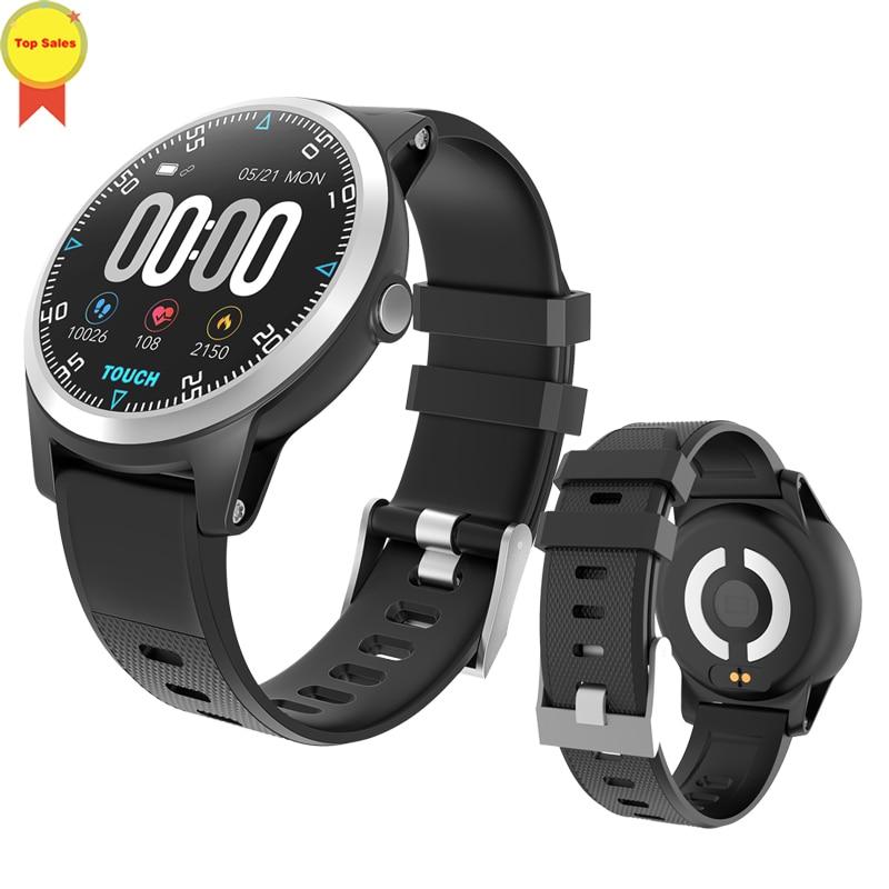 smart ECG Watch Heart Rate Bracelet Blood Pressure Fitness Tracker Waterproof Color Screen Men Women Sport Adroid IOS Watch