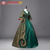 911b0e853 Green Marie Antoinette Renaissance Dresses Ball Gown Reenactment Theatrical  Rococo Costume. Verde Marie Antoinette renacimiento vestido de fiesta  vestidos ...