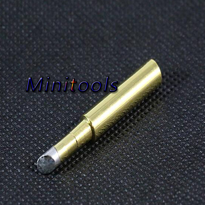 Newest 10pcs /lot Golden high quality <font><b>900M</b></font>-<font><b>T</b></font> Lead-free Solder Iron Tip <font><b>900M</b></font>-<font><b>T</b></font> -<font><b>4C</b></font> for Hakko,atten,quick,saike Soldering Station image