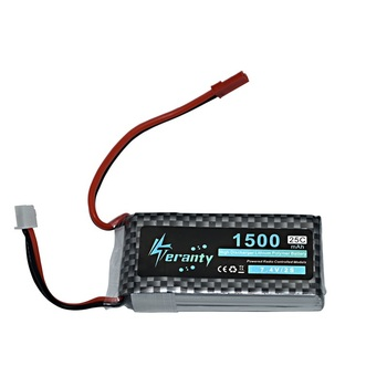 שיעור גבוה 7.4V 1500mAh Lipo סוללה עבור RC מסוק חלקי 2s סוללת ליתיום 7.4 V סוללה מטוסים 2s 25C סוללה RC רכב/אקדח