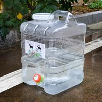 New 20L Water Carrier Water Container Portable Bucket Drinking Water Bag Outdoor Camping Picnic Car Water Carrier Drop Shipping