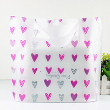 50pcs/lot Plastic packing bag for clothes gifts bags with full size flowers printing available for custom