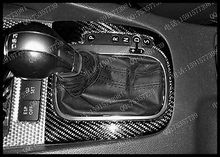 Golf 5 RHD Carbon Fiber Interior Shifter Cover Shift Trim For Volkswagen VW Golf MK5 GTI R32 2003-2008