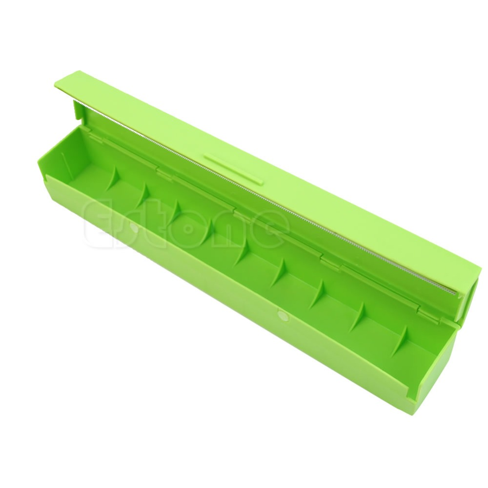 Aliexpress.com : Buy Plastic Kitchen Foil And Cling Film Wrap Dispenser  Cutter Storage Holder 3 Color #K918C# From Reliable Wrap Dispenser  Suppliers On ...