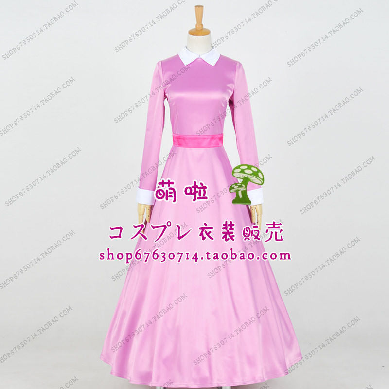Free Shipping Beauty And The Beast Enchanted Christmas Belle Cosplay Princess Pink Dress For Girl Women On Aliexpress
