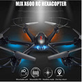 ET RC Drone MJX X600 Headless Mode 2.4GHz 6 Axis Gyro RC drones quadcopter UFO Helicopter Dron Can Add HD Camera C4018 RC Toys