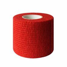 df34e7cc3f BD001 Acessórios Tatuagem Tubo Descartável Auto-adesivo Bandagem Elástica  Aperto do Punho-Vermelho