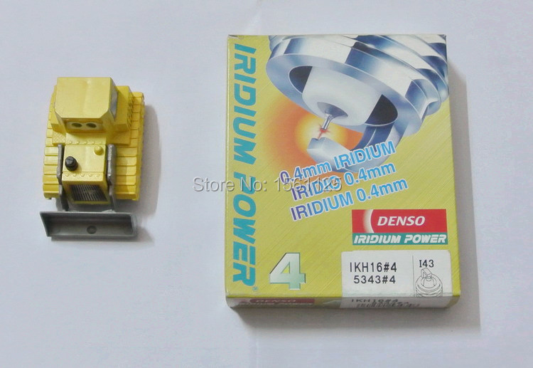 Prix pour 4 pcs/lot Denso Japon Original Iridium spark plugs IKH16 5343 pour IKH16TT IKH20TT LFR5AIX LFR6AIX PKH16TT VFKH16