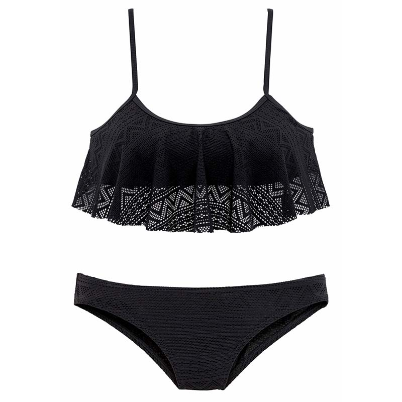 Bustier-Bikini-Buffalo-schwarz-17503040