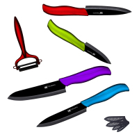 5 Pcs Set Home Kitchen Knife 6 5 4 3 Inch XYj Brand Ceramic Knife And