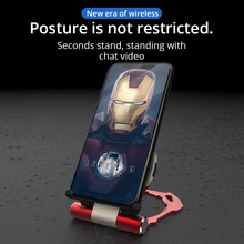 Metal Iron Man Wireless Charger For all Phones