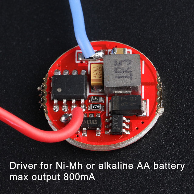 AA driver for ni-mh or alkaline AA battery ,max output current 800mA