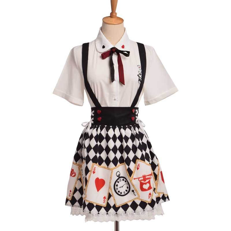 203fe123f769 Detail Feedback Questions about Girls CuteLolita Blouse Skirt Outfit ...