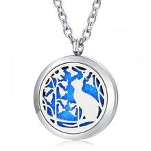 Ожерелье с цепочкой в подарок! Модное ожерелье кошачьим замком