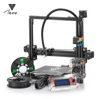 2017 Tarântula TEVO Impresora 3D Impressora 3D Diy Único & extrusora dupla Extrusora Impressora 3D Kit Com Titan & 2 Rolos filamento
