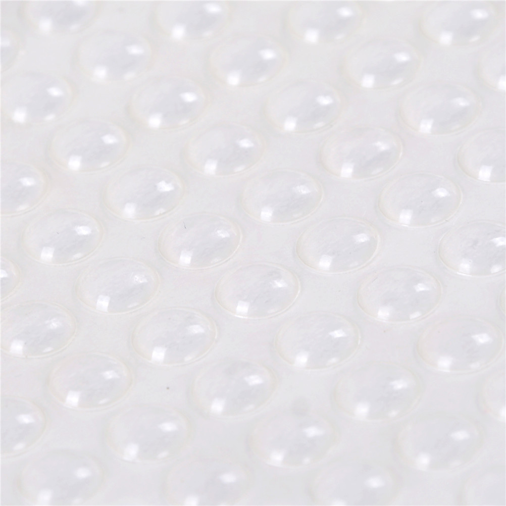 Ehrlich 100 Stücke Selbst Klebstoff Gummi Füße Pad Silikon Transparent Stoßfänger Tür Puffer Pad Selbst-adhesive Füße Pads
