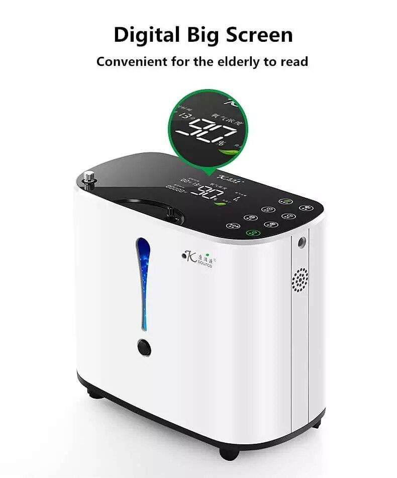 de oxigênio uso homecare oxigen gerador AC110-220V