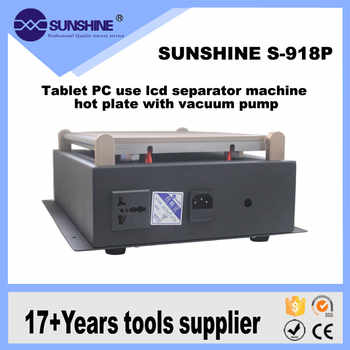 New S-918P 14 Inch Large Heating Plate Lcd Separator Touch Screen Glass For Mobile Repair