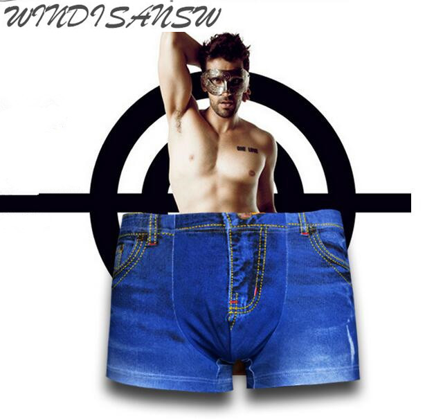 WINDISANSW cotton and spandex Cool Mens Clothing Accessories Underwears Fashion Jean Pri ...