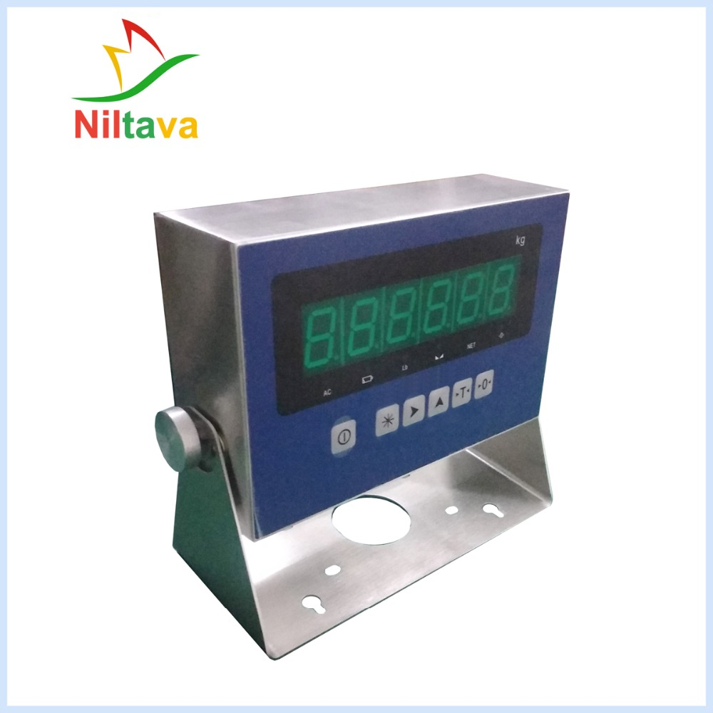 Y8503-A stainless steel weighing indicator for pallet scale 2t weighing indicatorY8503-A stainless steel weighing indicator for pallet scale 2t weighing indicator