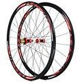 Дорожный велосипед 700C велосипед углеродное волокно V/C Тормозные колеса прямые тяги 30 мм обод колеса 1680g
