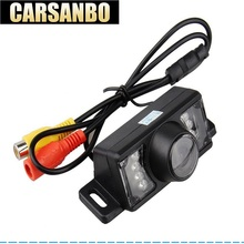 Factory HOT Selling Waterproof Car Rearview Rear View Camera For Vehicle Parking Reverse System With 7 IR LED Night Vision цена