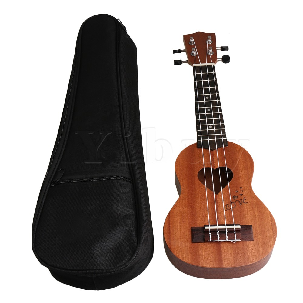 Yibuy 45x15x4cm Shabili Material Mini Type Pocket Four-string 17 inch Ukulele with One G ...