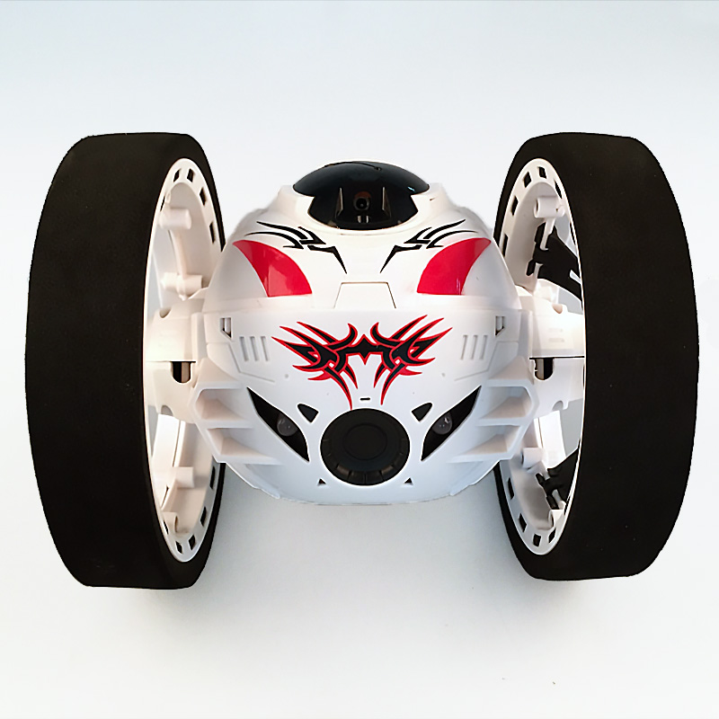 New-toys-remote-control-two-wheel-car-24G-frequency-car-with-a-flexible-rotating-wheel-led-lights-remote-control-robot-2