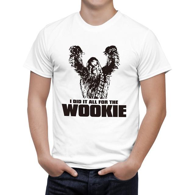 Star Wars Chewbacca Kopf Zah Wookie T Shirt Manner Frauen Baumwolle