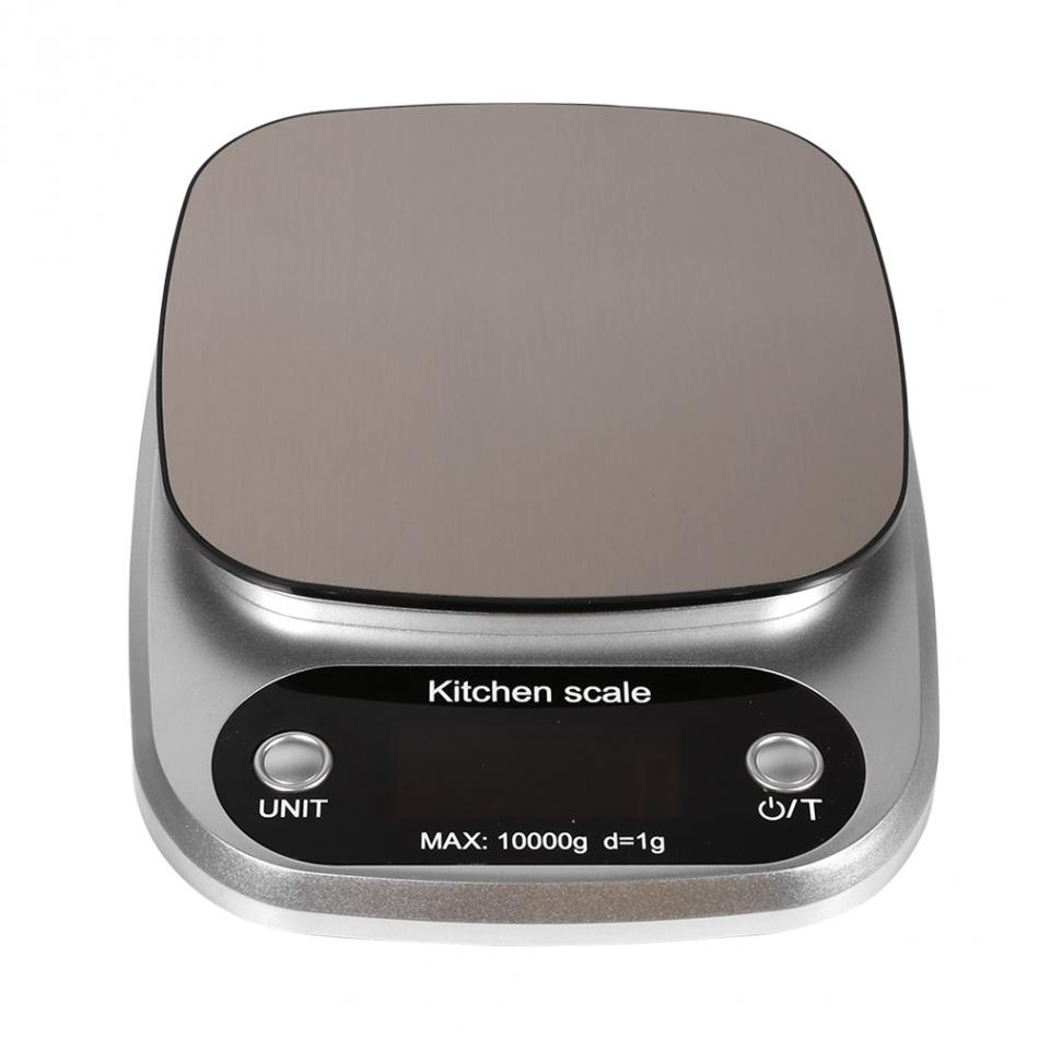 10 kg 1g LCD Display Elektronische Küchenwaage Digitalwaage ...
