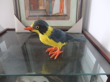simulaiton bird toy polyethylene&furs bird model gift about 24.5cmx7cmx12.5cm