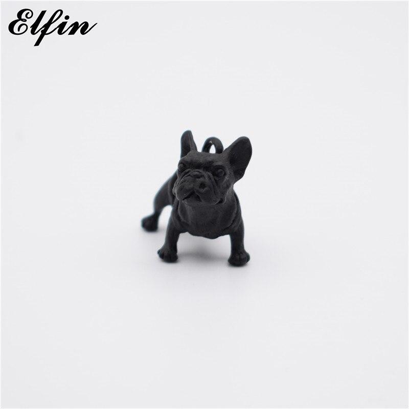 Elfin 2017 New 3D French Bulldog Pendants Animal Fashion Dog Jewellery French Bulldog Women Pendant Friend Best Gift
