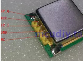 FREE SHIPPING CFK024 2A 24GHZ K band High sensitivity microwave radar sensor