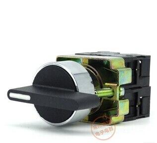 22mm XB2-BJ33 3 position 2NO Maintenu Étendue Levier électrique basculer le commutateur rotatif 50/60Hz