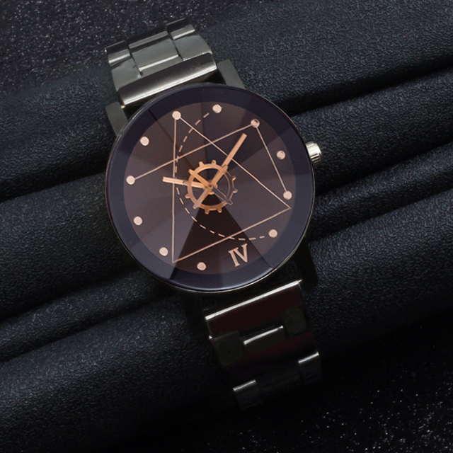 Hot Fashion Casual Cool Clock Black Watch Men Military Sports Quartz Stainless S