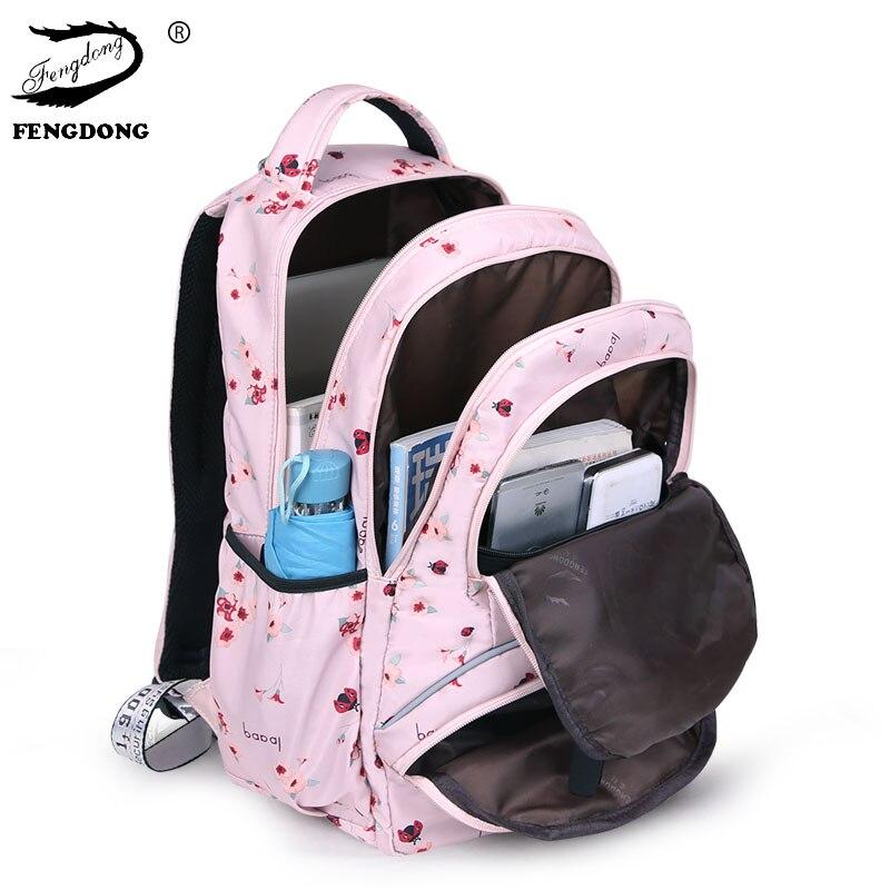 Cute Spring Flower Printed Backpacks