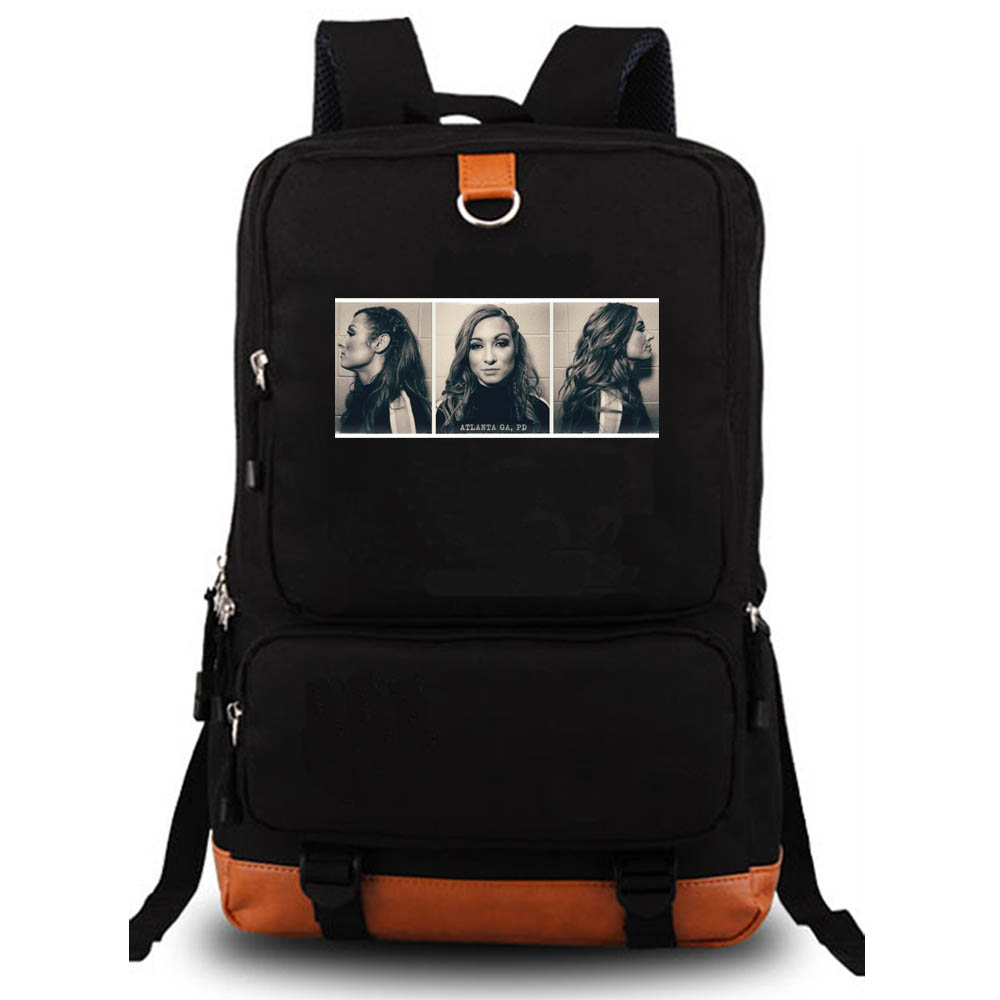 2019 Becky Lynch Mugshot Backpack student school bag Notebook backpack Leisure Daily backpack 2019 Becky Lynch Mugshot Backpack student school bag Notebook backpack Leisure Daily backpack