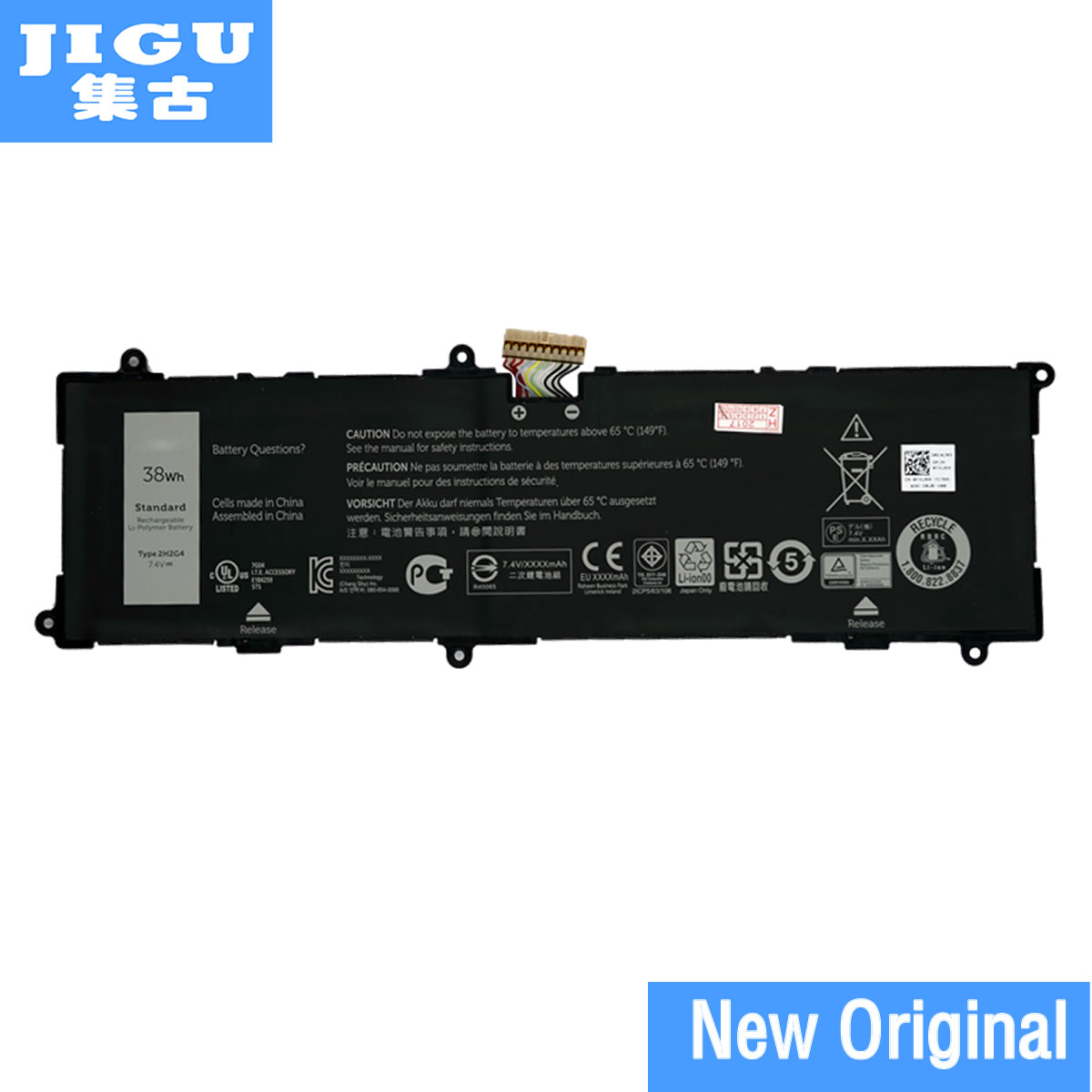 JIGU Laptop Battery 2H2G4 HFRC3 FOR DELL Venue 11 Pro 7140 Tablet стоимость