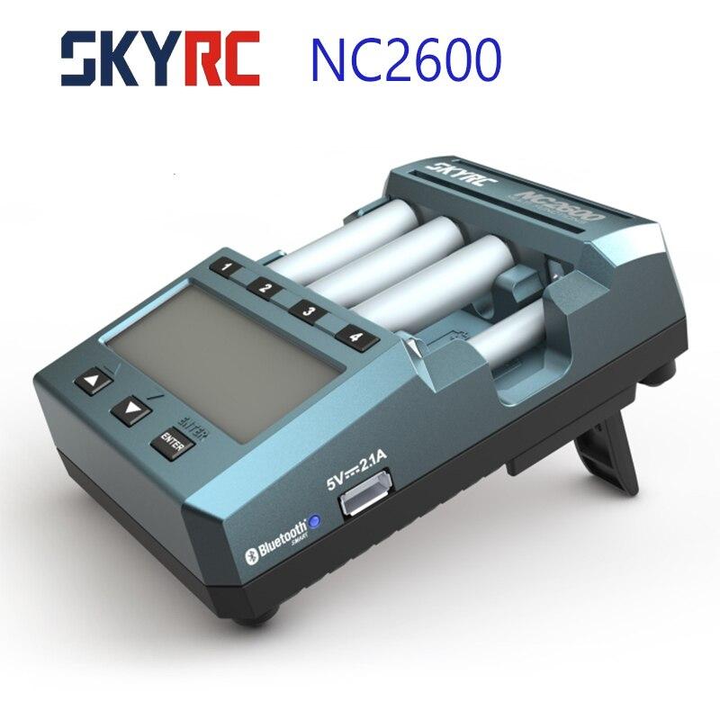 SKYRC NC2600 Charger Bluetooth Smart Rapid Battery Fast Charger AA/AAA Battery Charger Discharger Refresh Analyzer