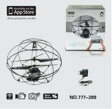 2014 New Design! 777-289 Wifi Remote Controlled i-Spy Rc UFO With Camera